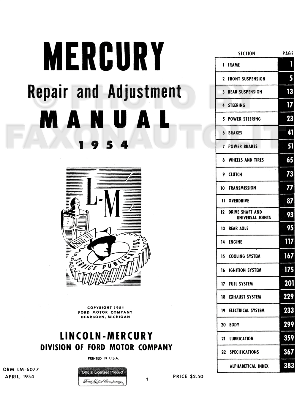 1954 mercury monterey wiring diagram 1957 chevy bel air