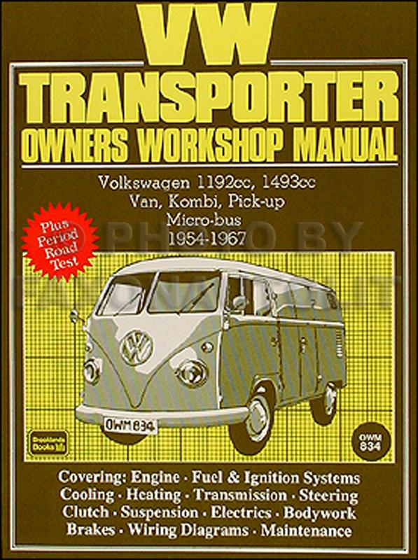 vw transporter owners workshop repair manual 1954 1967 rh faxonautoliterature com Volkswagen Bus Transporter Volkswagen Bus Transporter