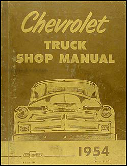 98 chevy truck wiring diagram 1954 & 1955 1st series chevrolet truck wiring diagram ...