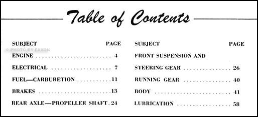1954 Nash Repair Shop Manual Original Supplement