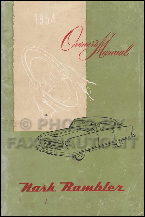 Wiring Diagrams Of 1957 Nash Ambassador