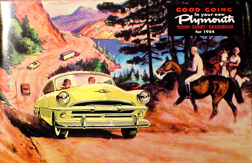 1954 Plymouth Reprint Owner's Manual