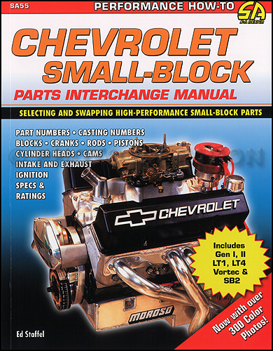 1955-2001 Chevy Small-Block Parts Interchange Manual