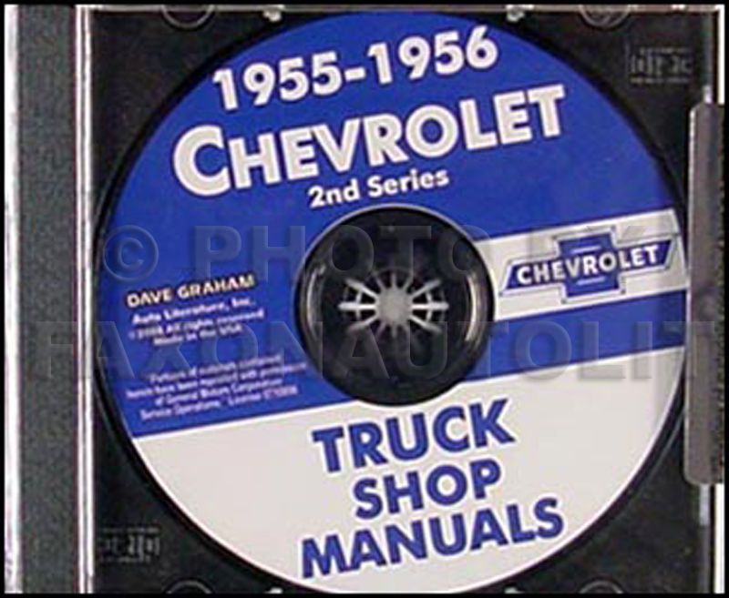 1955 Chevrolet Truck Engineering Features Manual Reprint