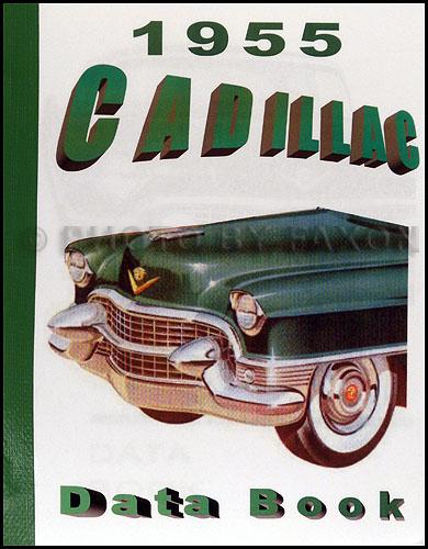 1955 Cadillac Repair Shop Manual Reprint Supplement For