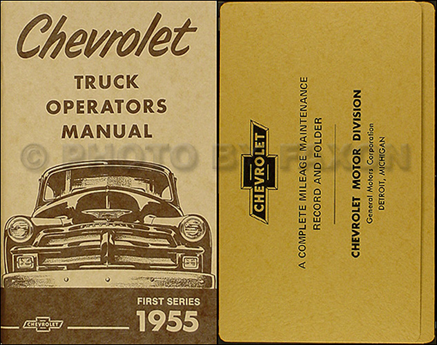 1954 & 1955 1st series chevrolet truck wiring diagram ... 1955 2nd series chevy truck wiring diagram #1