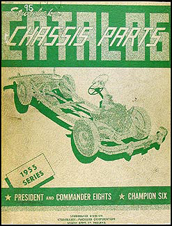 1955 Studebaker  Chassis Parts Catalog Original