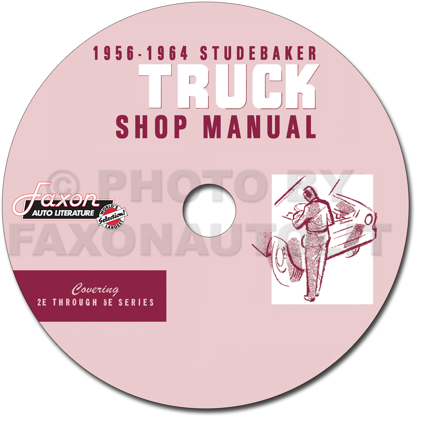 1956 1964 studebaker pickup truck repair shop manual on cd rom
