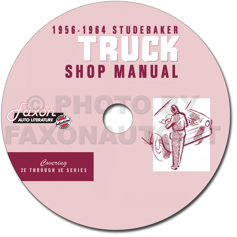Studebaker Transtar Wiring Diagrams Diagram Manual Engine 1956 1963 Pickup Truck Repair Shop Original Chrysler Lincoln