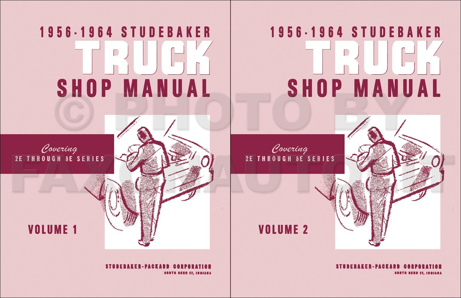 Studebaker Transtar Wiring Diagrams Diagram Manual 1963 Chrysler 1956 Pickup Truck Repair Shop Original Lincoln