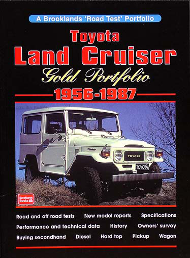1956-1987 Toyota Land Cruiser Gold Portfolio of Road Tests