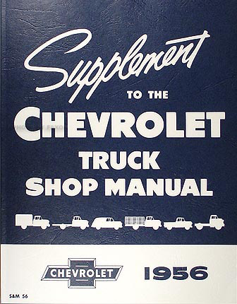 1955 chevrolet pickup & truck repair shop manual original ... f series ford truck wiring diagram 1995 1954 1955 1st series chevrolet truck wiring diagram manual reprint