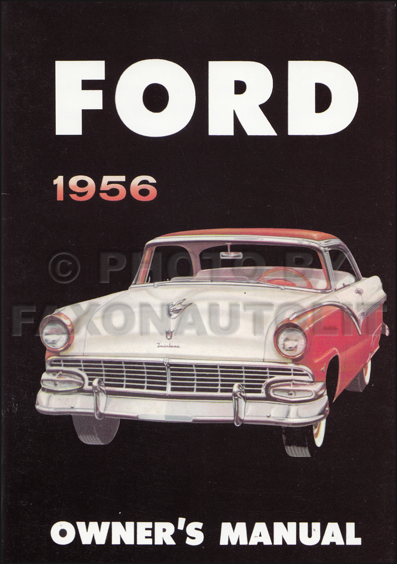 1956FordCarROM 1956 ford car & thunderbird wiring diagram manual reprint Ford F-250 Wiring Diagram at soozxer.org