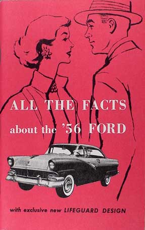 1956 Ford Car Body and Interior Reprint Assembly Manual