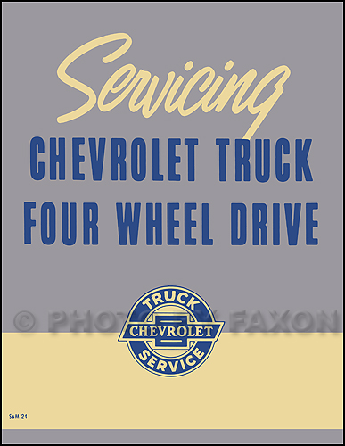 Pictures 1956 1963 chevy gmc napco 4x4 pickup truck repair shop manual ...
