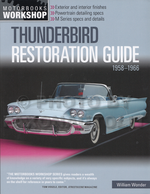 Thunderbird Restoration Guide 1958-1966