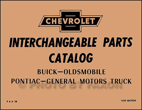 19541966 Hollander Us Parts Interchange Manual