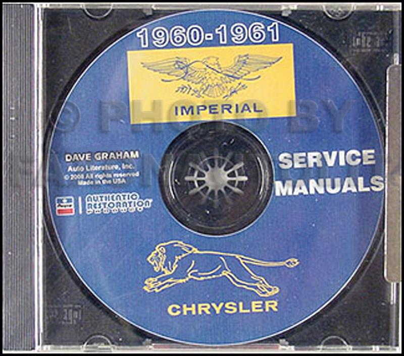 1960 Chrysler & Imperial Repair Shop Manual Reprint