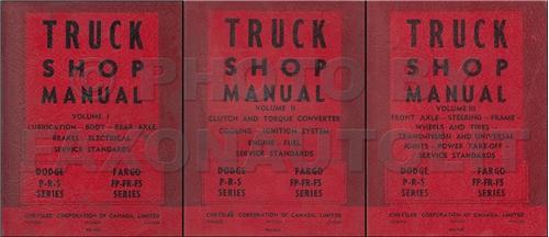 1962 Dodge Truck Shop Manual Original