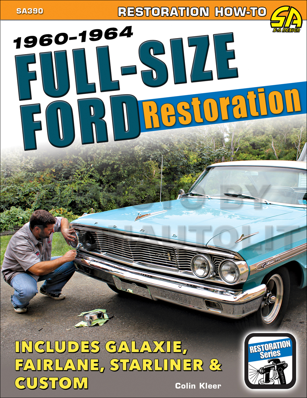 1960 Ford Fairlane  U0026 Galaxie Wiring Diagram Manual Reprint