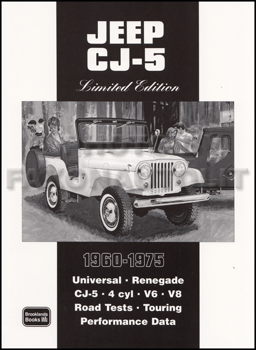 Book of 29 magazine articles on 1960-1975 Jeep CJ5