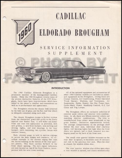 1992 cadillac eldorado and seville repair shop manual original.
