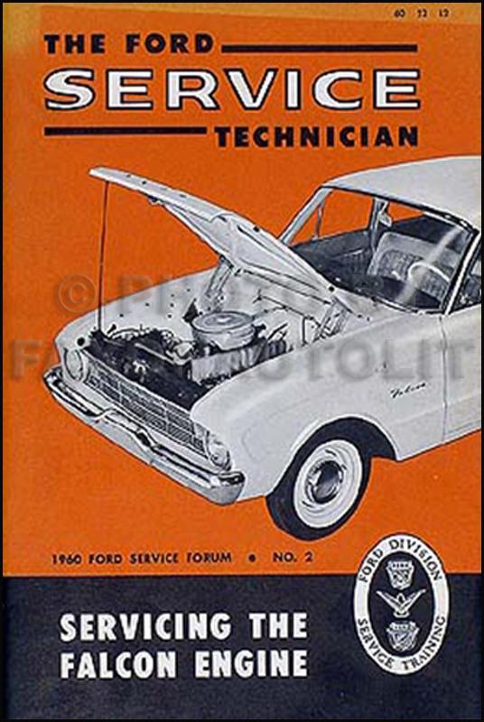 1960 1962 ford falcon ranchero repair shop manual original. Black Bedroom Furniture Sets. Home Design Ideas