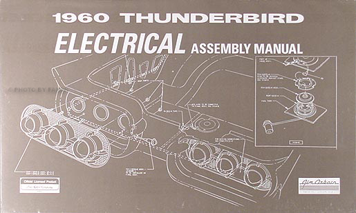 1960    Thunderbird    Body  Trim   Sealant Assembly Manual Reprint
