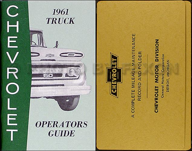 1961 chevrolet truck wiring diagram manual reprint rh faxonautoliterature com 61 chevy truck wiring diagram 1985 Chevy C10 Wiring-Diagram
