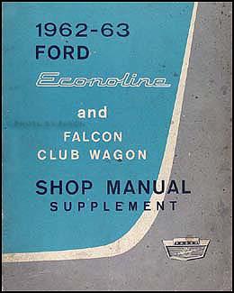 1962-1963 ford econoline & falcon club wagon repair shop manual, Wiring diagram
