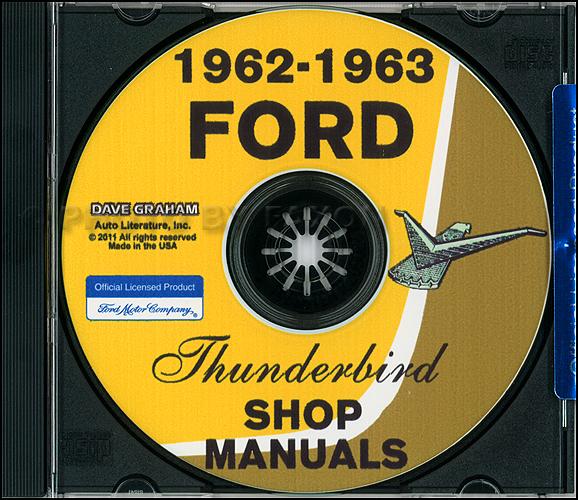 1963 ford t bird wiring diagram