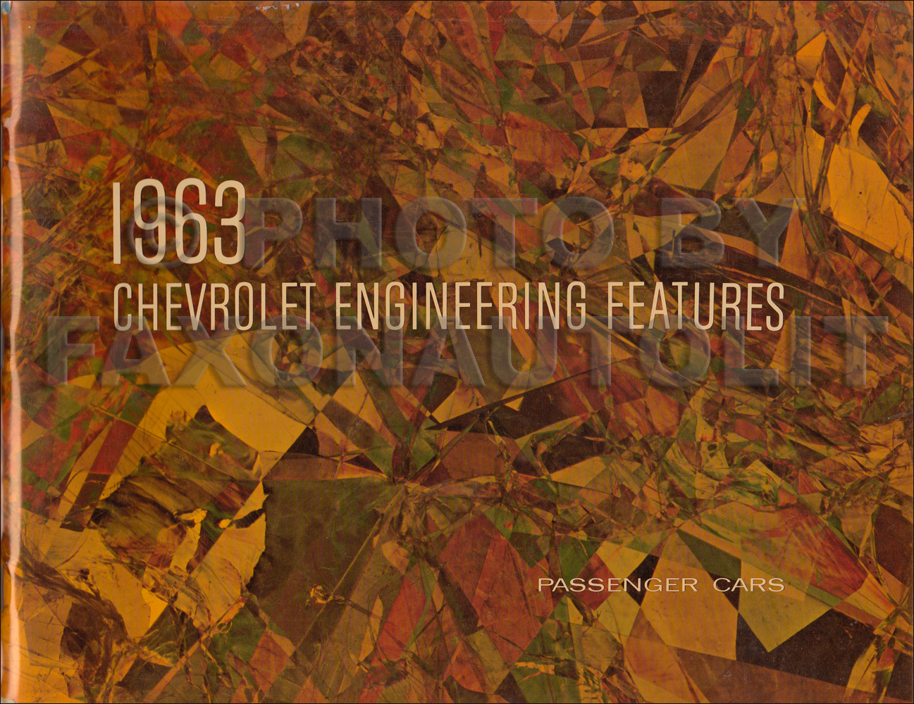 1963 Chevrolet Assembly Manual Reprint