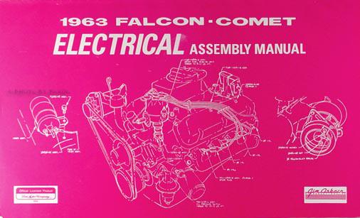 1963 Falcon  Futura  Ranchero  Sprint  Comet Body Assembly