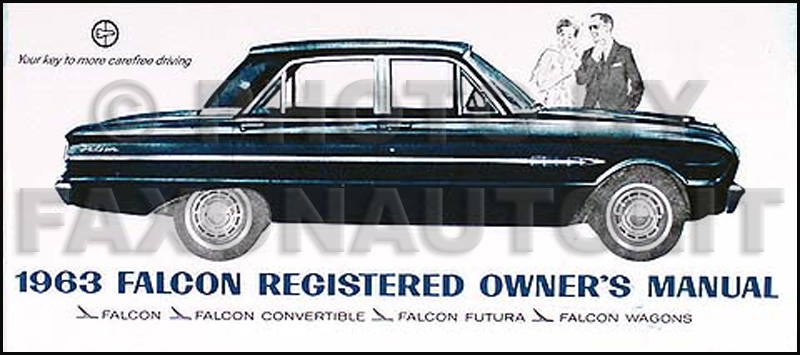 1963FordFalconROM 1963 ford falcon, sprint, & ranchero owner's manual reprint 1963 mercury comet wiring diagram at fashall.co