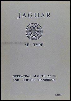 1963 jaguar xke owner s manual original rh faxonautoliterature com jaguar xk owners manual 2007 1967 Jaguar XKE