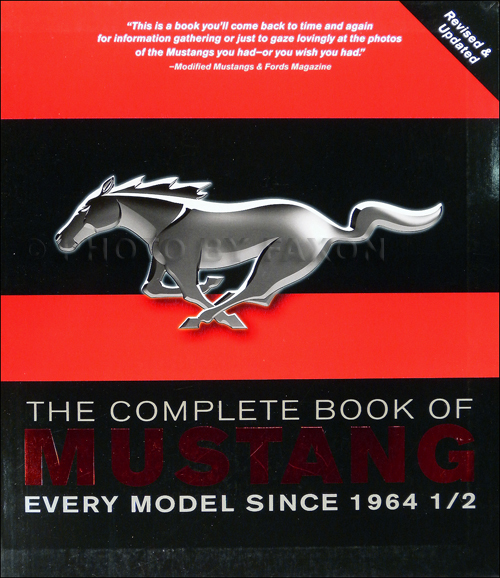 1964.5-2011 The Complete Book of Mustang