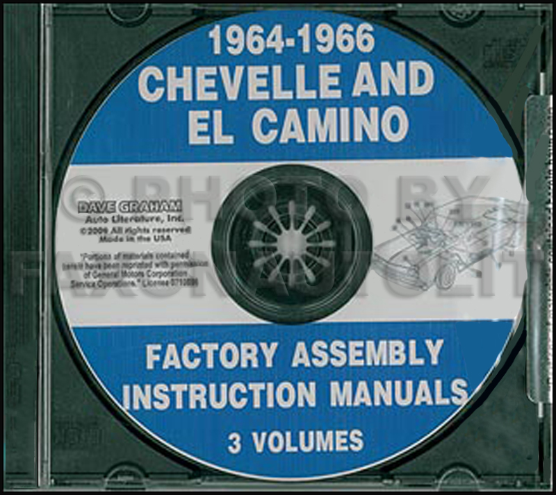 CD 1964-1966 Chevelle and El Camino Factory Assembly Manuals