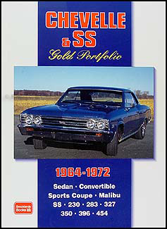 1964-1972 Chevelle, Malibu, & SS Gold Portfolio of Magazine Articles
