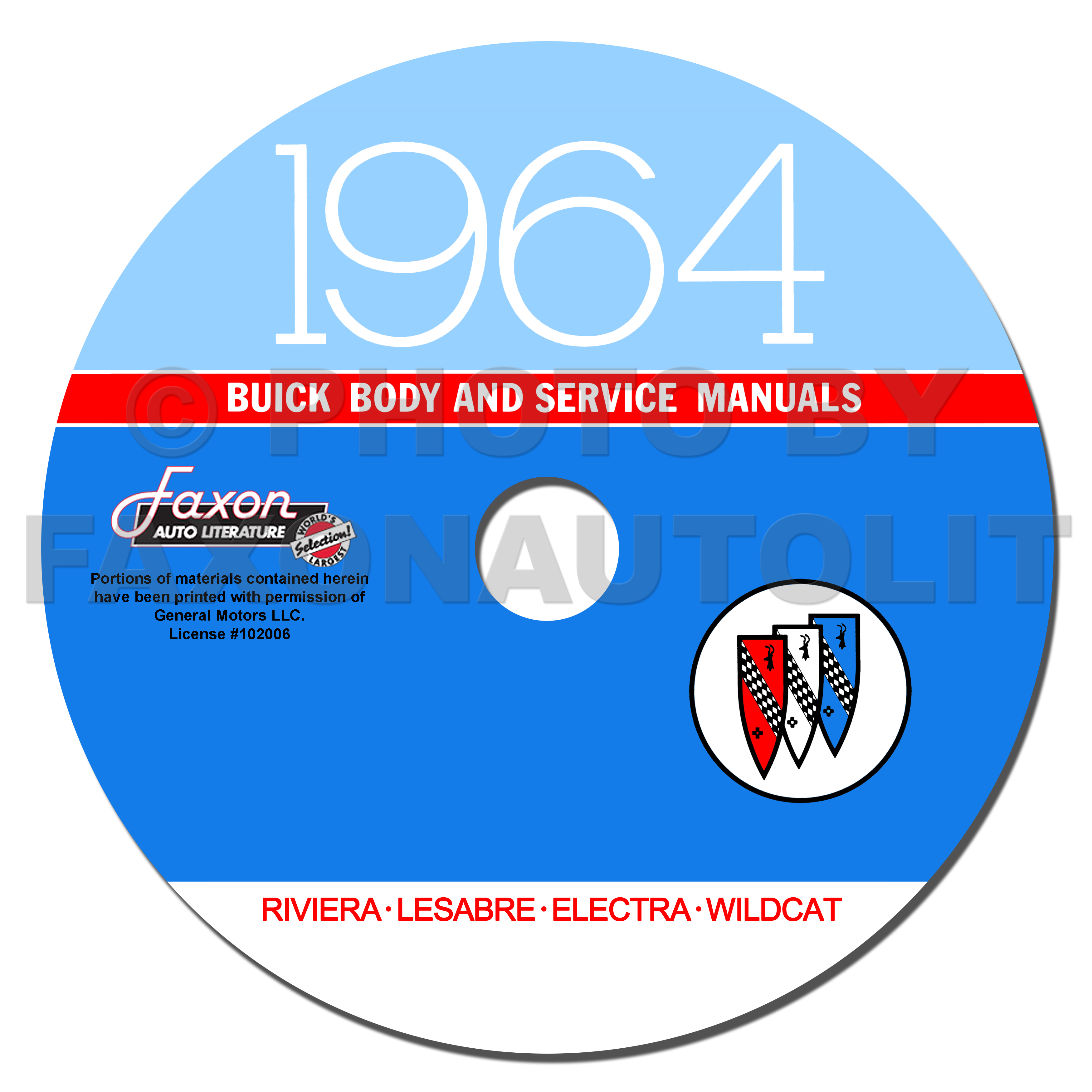 1964 Buick CD-ROM Shop Manual & Body Manual