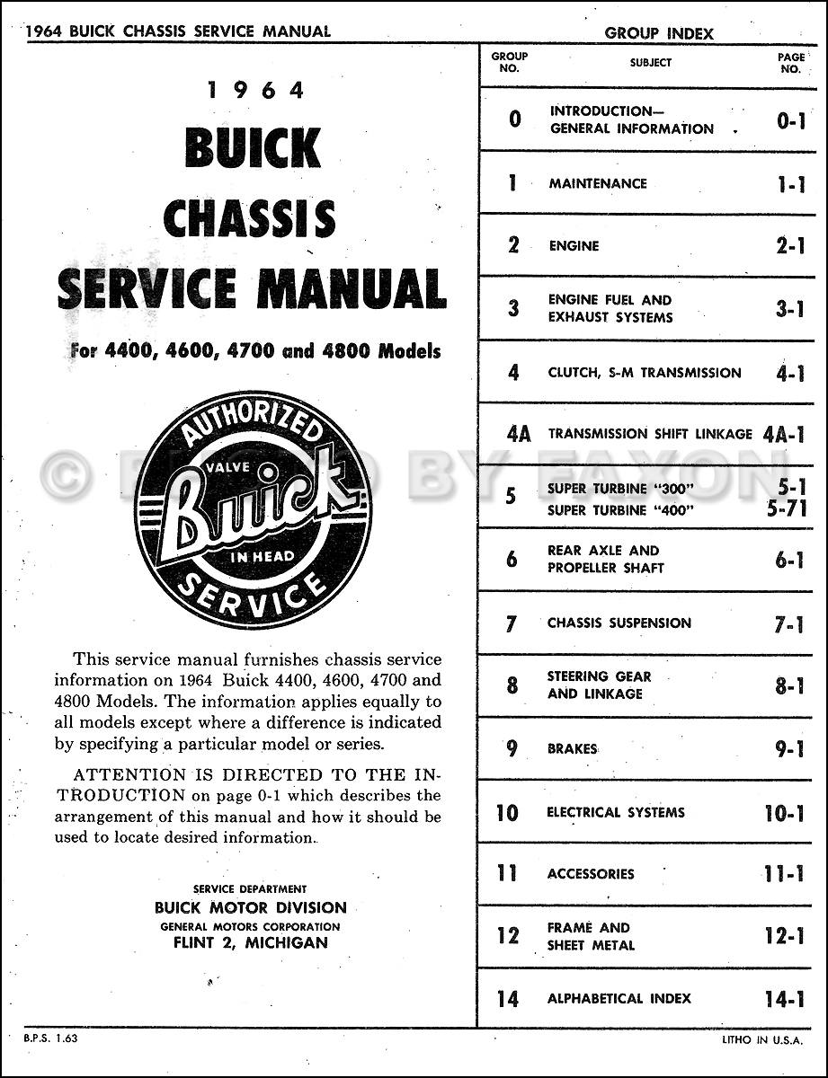 1994 Buick Lesabre Service Repair Manual