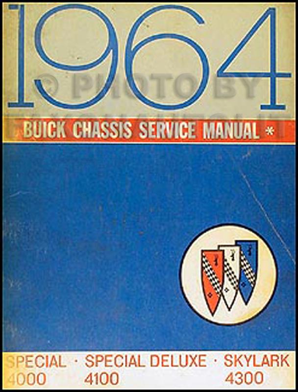 1964 buick special deluxe skylark repair shop manual original rh faxonautoliterature com 1975 Buick Skylark 1970 Buick Skylark
