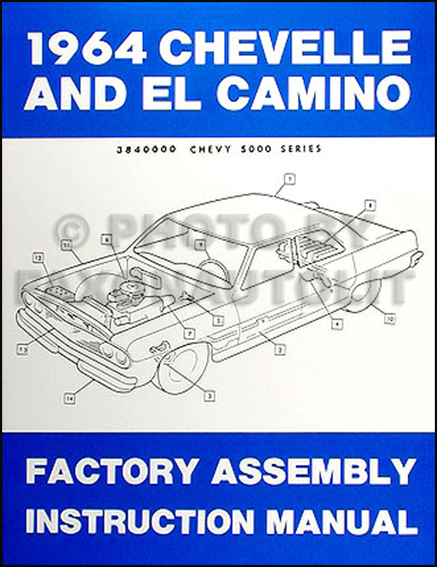 1964ChevroletChevelleRAM 1964 chevelle & el camino reprint factory assembly manual 1965 malibu wiring diagram at mifinder.co