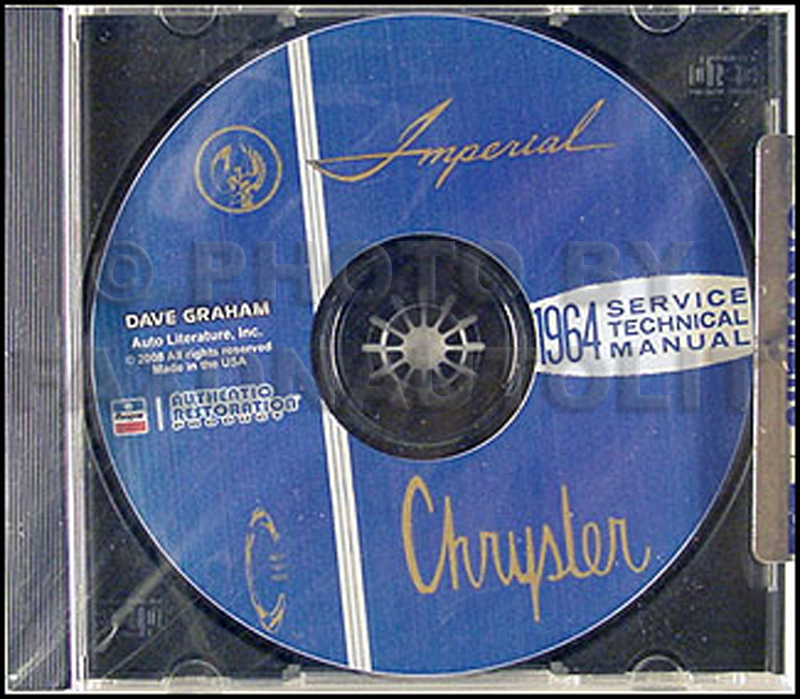 1964 Chrysler Repair Shop Manual CD For Imperial Newport