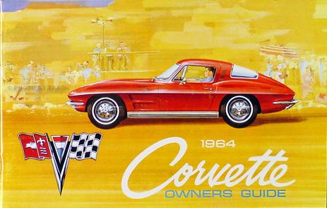 1964 Corvette Reprint Owner's Manual