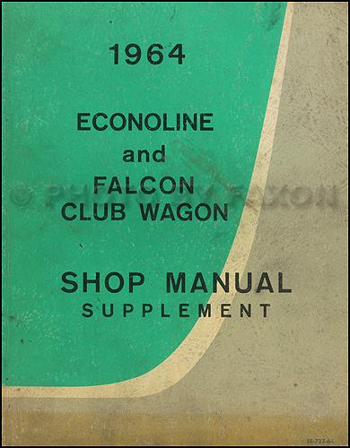 1962 Ford F100 Workshop Manual