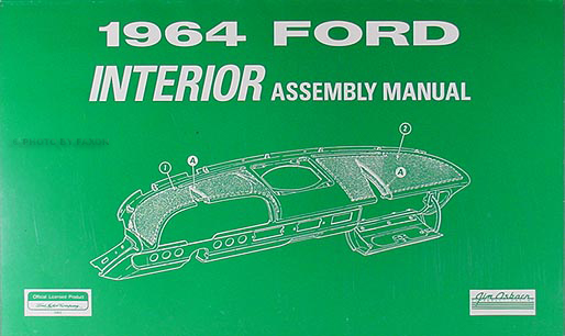 1964Fordriam 1964 ford galaxie & 500 interior assembly manual reprint 1964 ford galaxie 500 wiring diagram at n-0.co