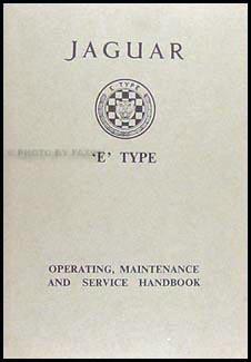 1964 jaguar xke owner s manual original rh faxonautoliterature com 1963 Jaguar XKE 2016 Jaguar XKE