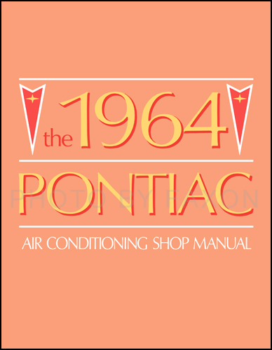 1964 Pontiac Air Conditioning Repair Manual Original