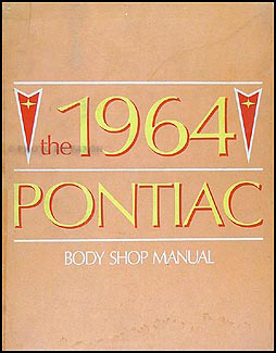 1964 Pontiac Body Manual Original for all models