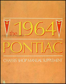 1964 Pontiac Repair Shop Manual Supplement Catalina Star Chief Bonneville Grand Prix